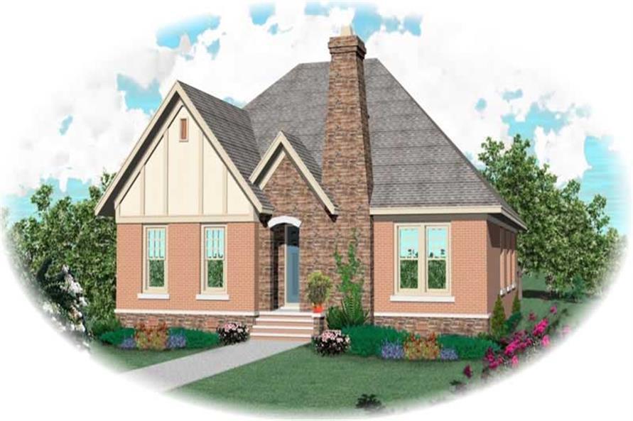 3-Bedroom, 2494 Sq Ft Craftsman House Plan - 170-1966 - Front Exterior