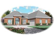 Main image for house plan # 10824