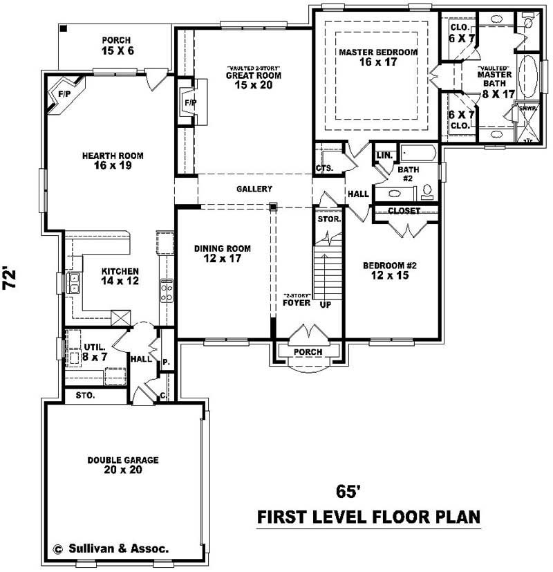 French Country House Plans Home Design Su B2441 770 912
