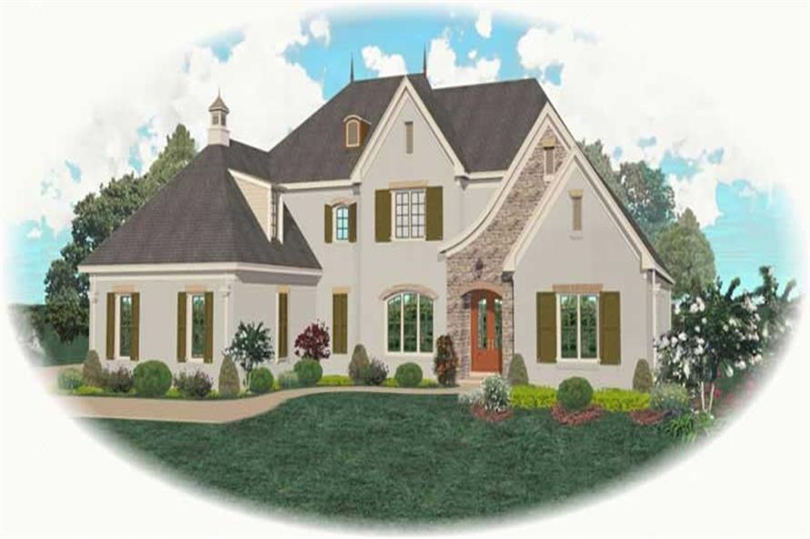 Main image for house plan # 11052