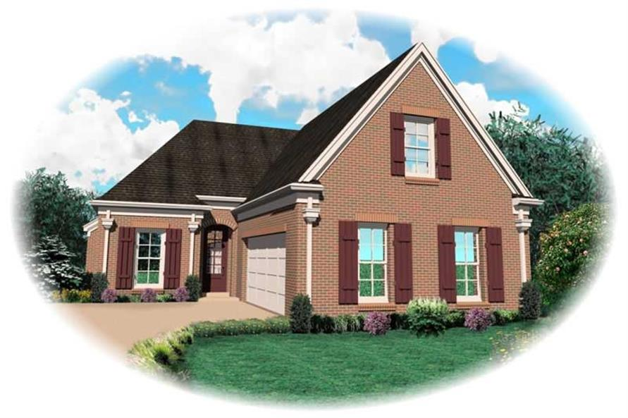 Main image for house plan # 10954