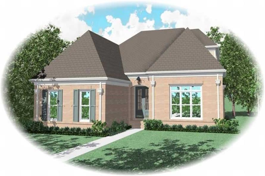 Main image for house plan # 10829
