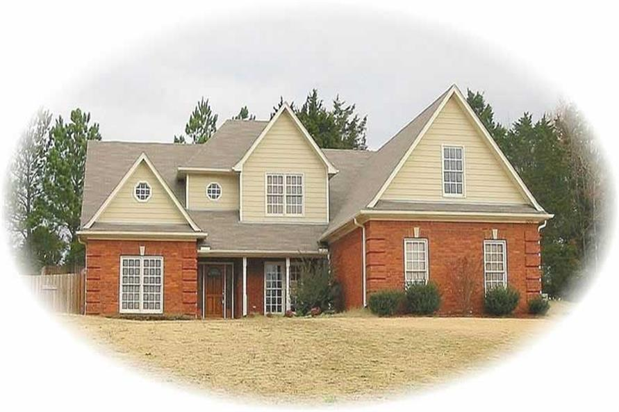 Main image for house plan # 10860