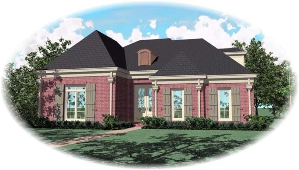 Main image for house plan # 10743