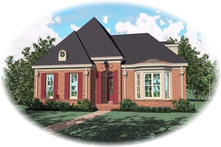 Main image for house plan # 10736