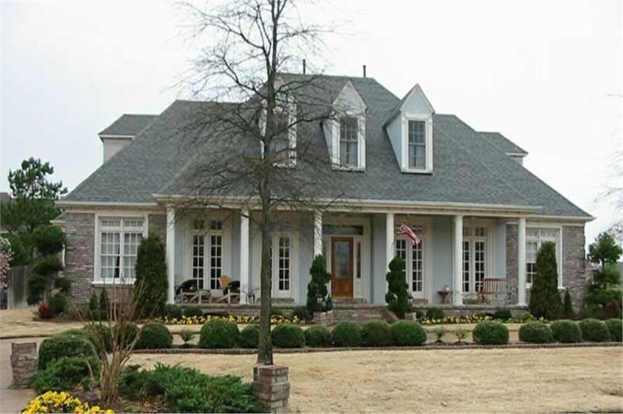 Southern brick house plans house plans for Brick farmhouse plans