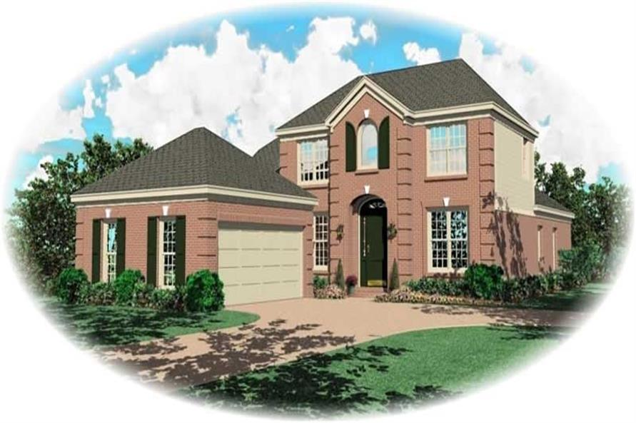 Main image for house plan # 10960