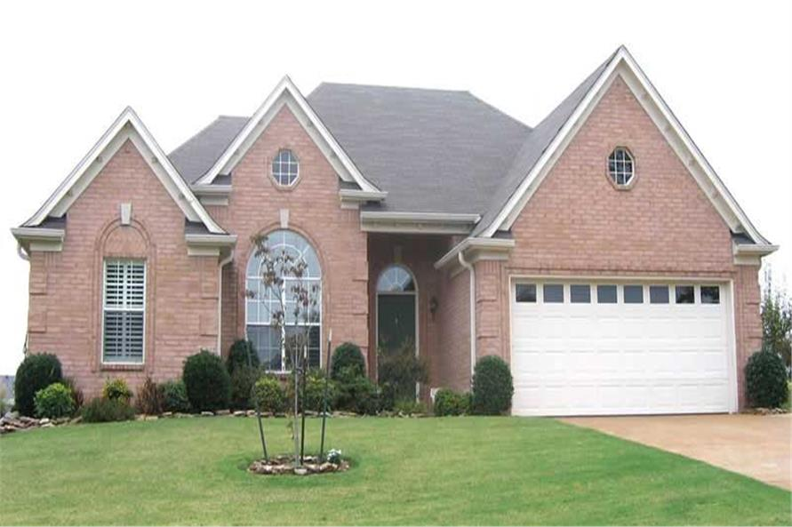 3-Bedroom, 1826 Sq Ft Southern Home Plan - 170-2046 - Main Exterior