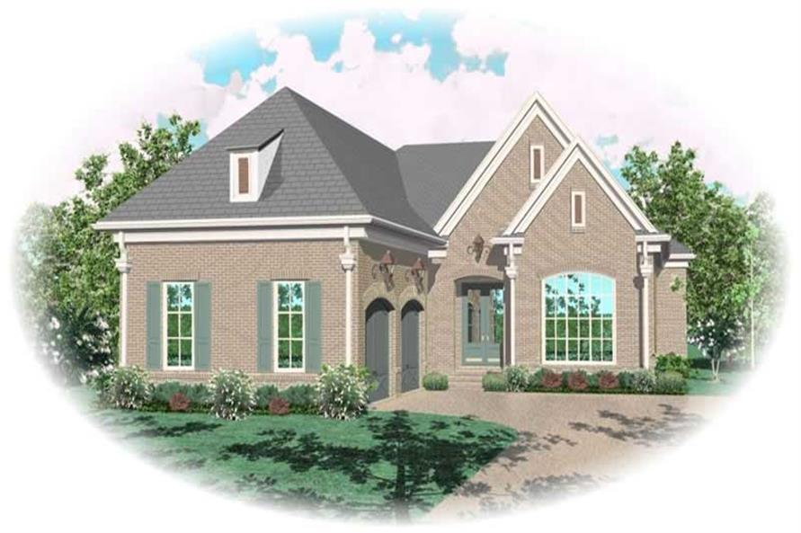 Main image for house plan # 10899