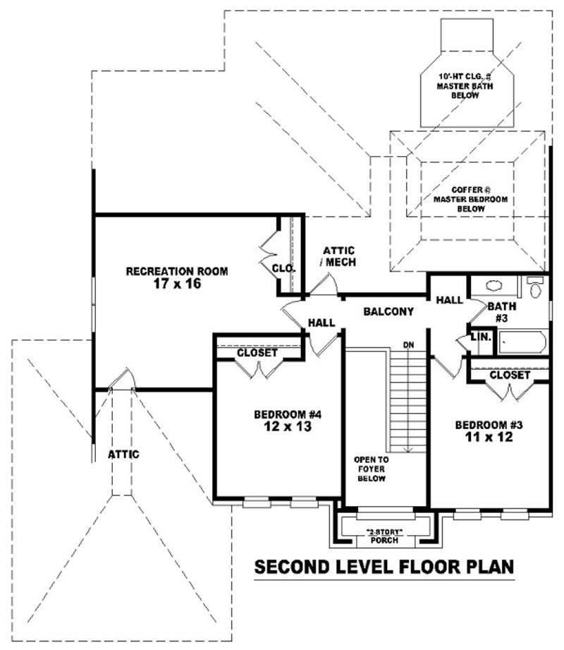 Traditional French House Plans Home Design Su B1841 860