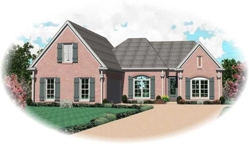 Main image for house plan # 10591
