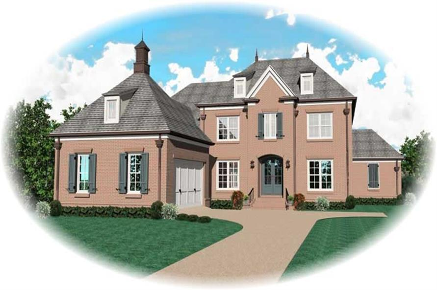 Main image for house plan # 10746