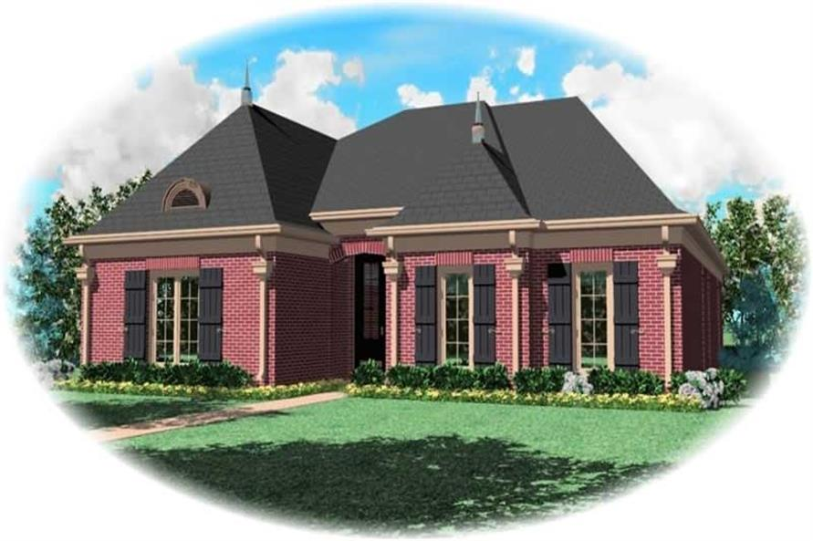 Main image for house plan # 10742