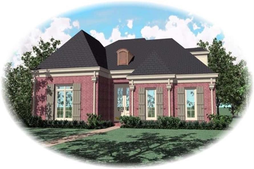 Main image for house plan # 10738
