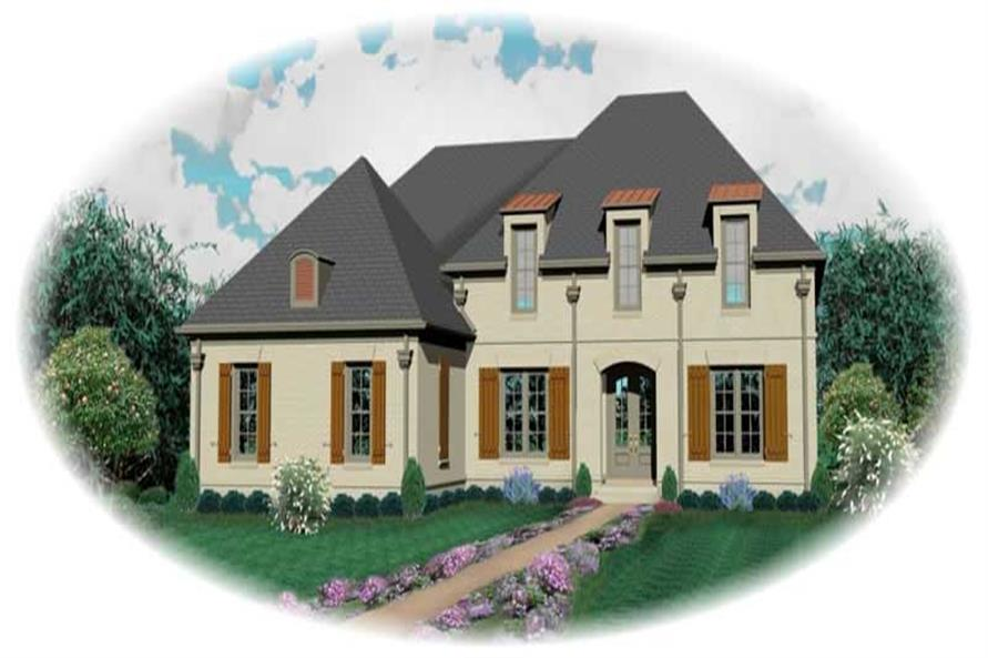 Main image for house plan # 10733