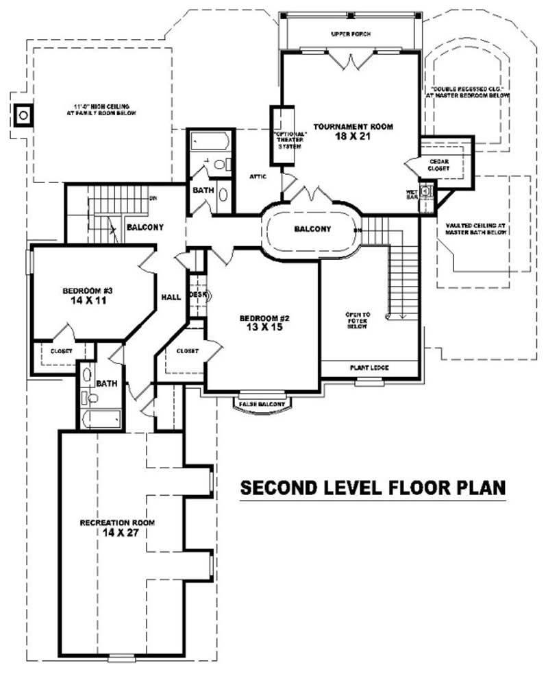 French House Plans Home Design Su B2400 1691 947 F 10732