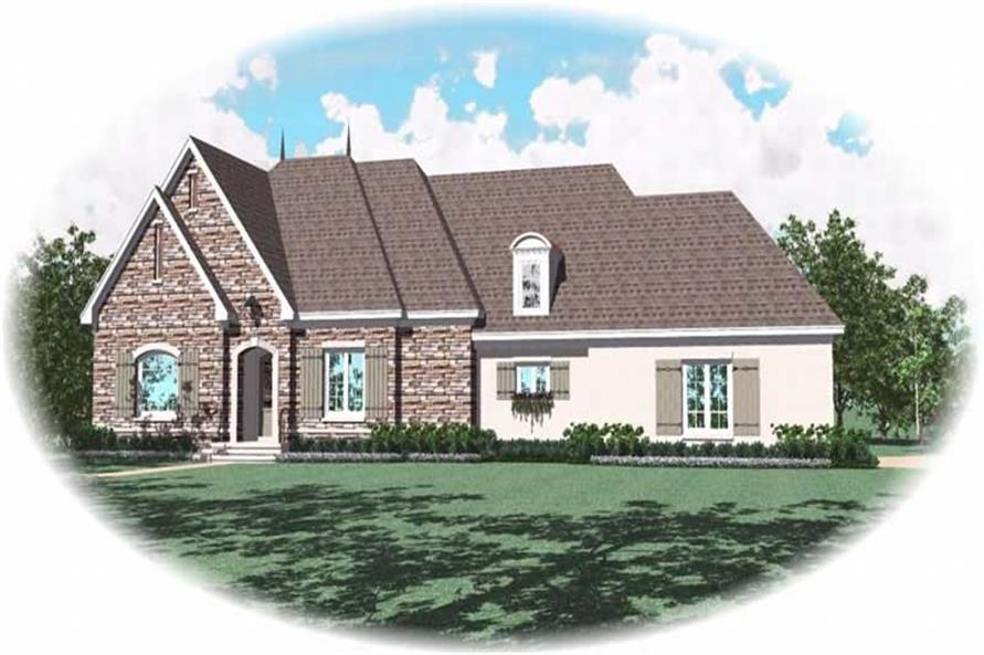 Main image for house plan # 10790
