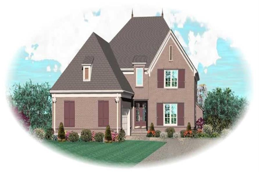 Main image for house plan # 10786