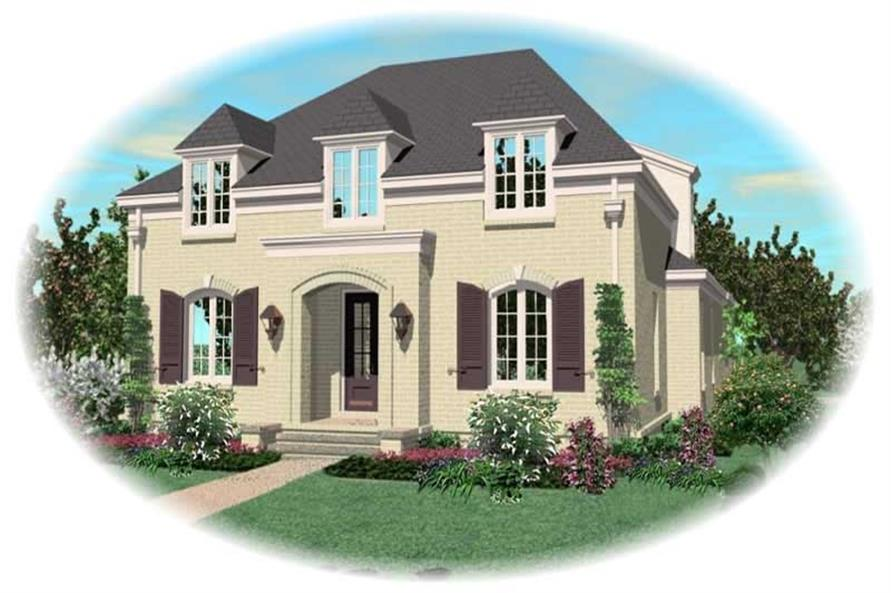 Main image for house plan # 10778