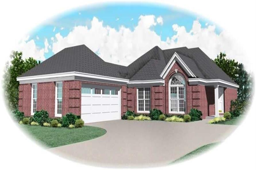 Main image for house plan # 10768