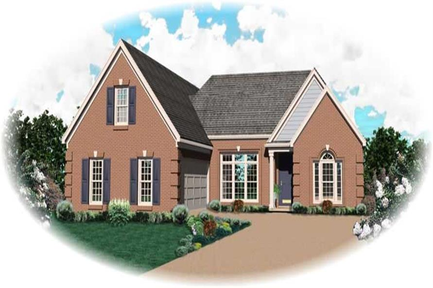 Main image for house plan # 10592