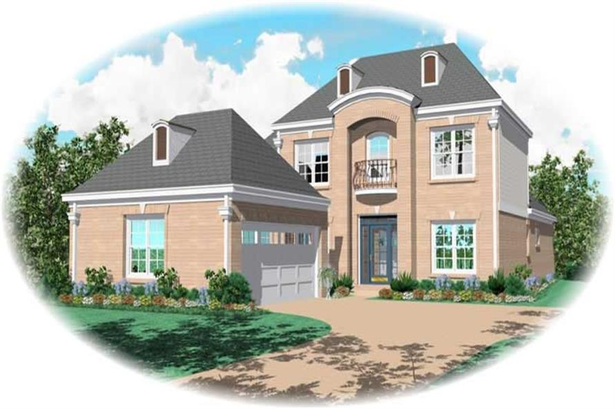 Main image for house plan # 10759