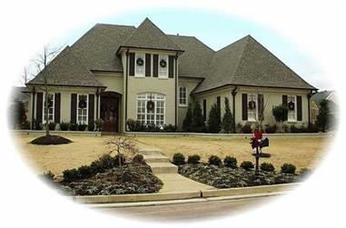 5-Bedroom, 3985 Sq Ft Luxury Home Plan - 170-2100 - Main Exterior