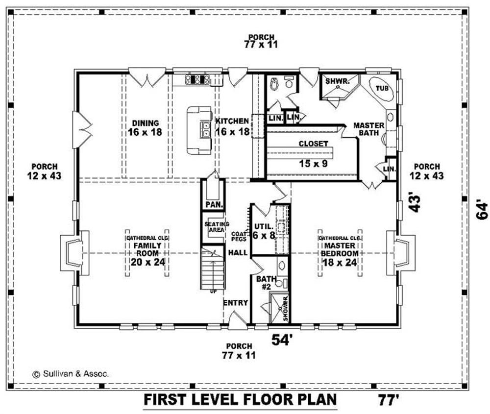 large images for house plan 170 2101