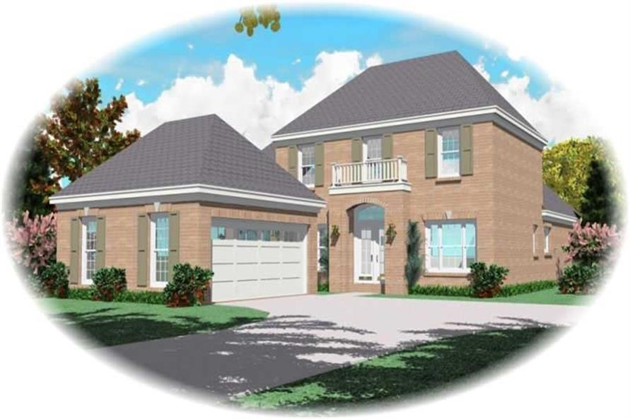 Main image for house plan # 10761