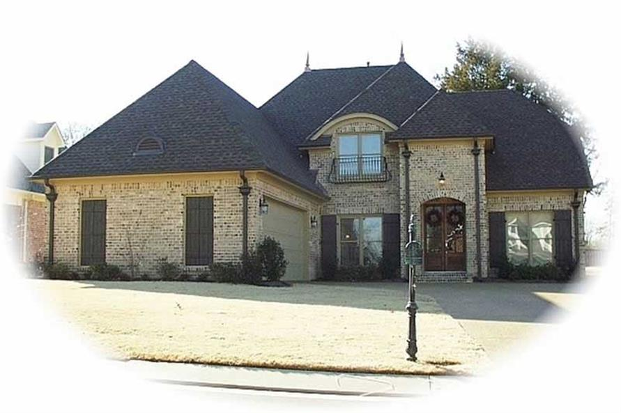 3-Bedroom, 3178 Sq Ft Country Home Plan - 170-2118 - Main Exterior