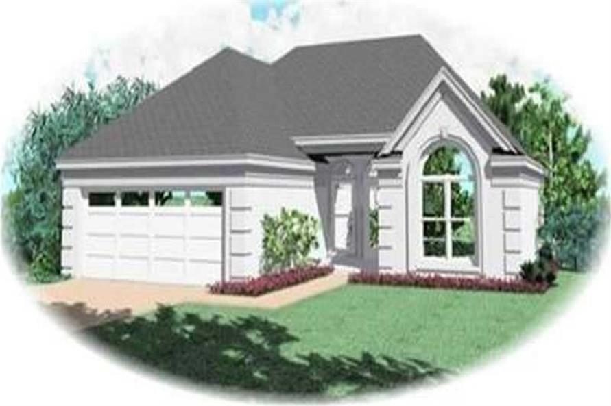 Main image for house plan # 8259