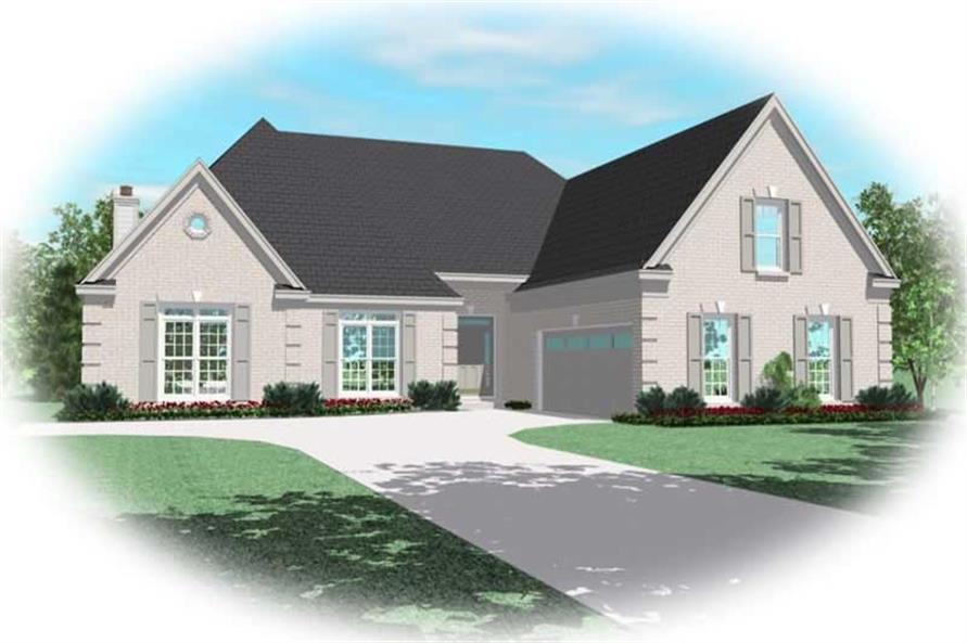 Main image for house plan # 10712