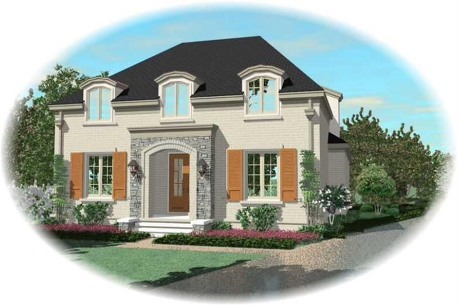 Main image for house plan # 10710