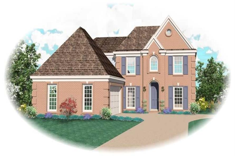 Main image for house plan # 10692