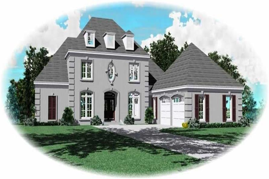 Main image for house plan # 10709