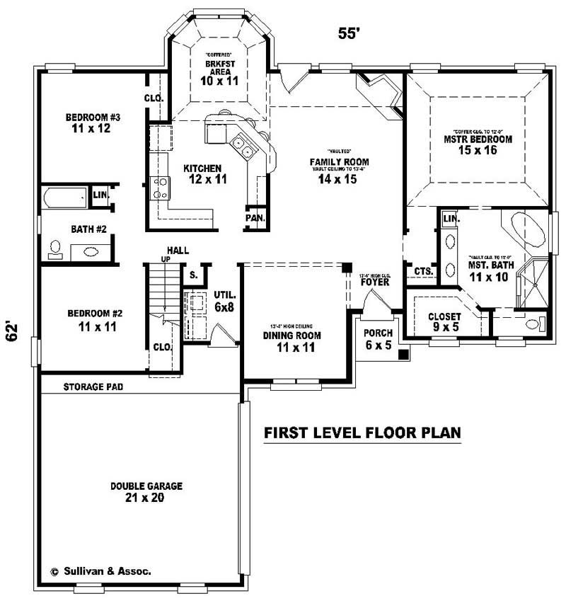 French house plans home design su b1799 380 578 f 10872 for 380 square feet floor plan