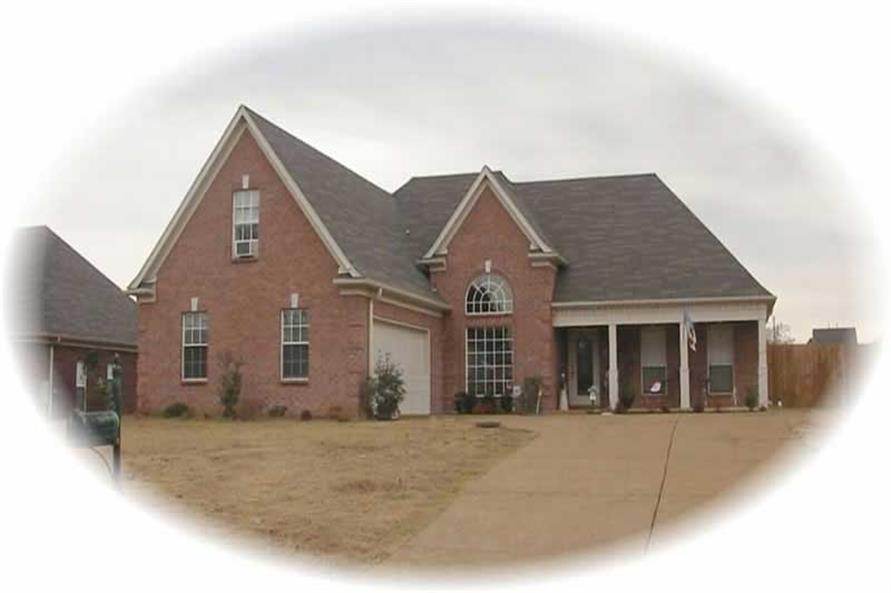 3-Bedroom, 1840 Sq Ft French Home Plan - 170-2167 - Main Exterior