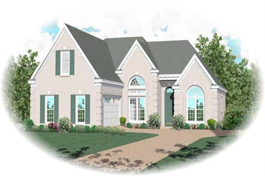 2-Bedroom, 1742 Sq Ft Small House Plans - 170-2169 - Main Exterior