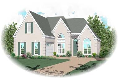2-Bedroom, 2026 Sq Ft Traditional Home Plan - 170-2172 - Main Exterior