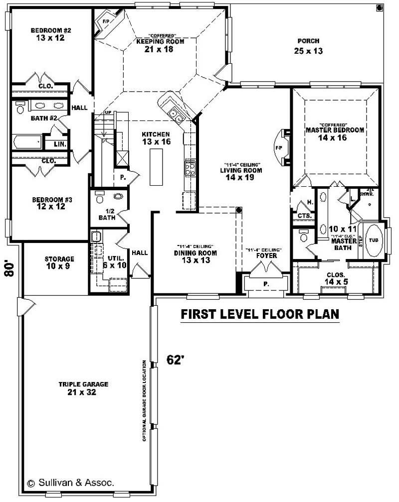French house plans home design su b2499 832 1327 f 10801 for Floor plan in french