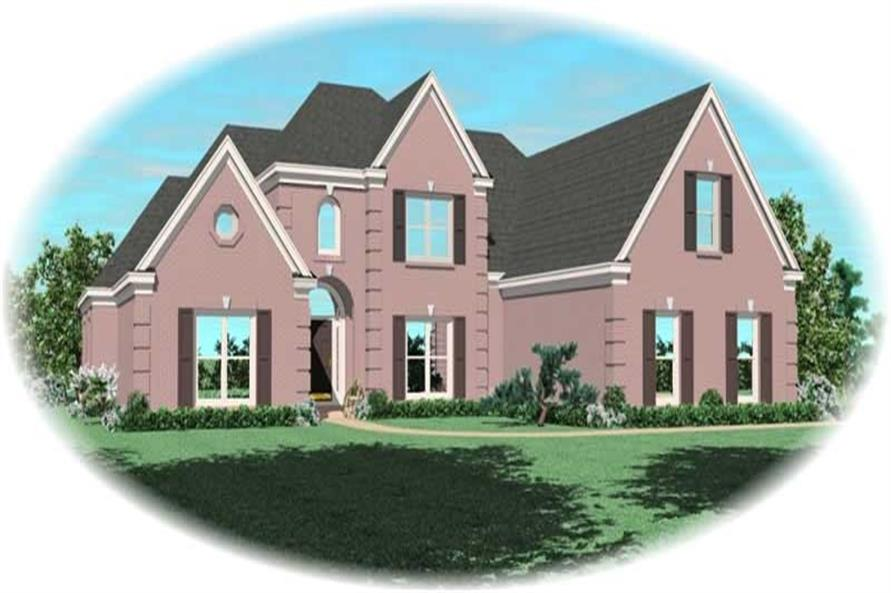 Main image for house plan # 10845