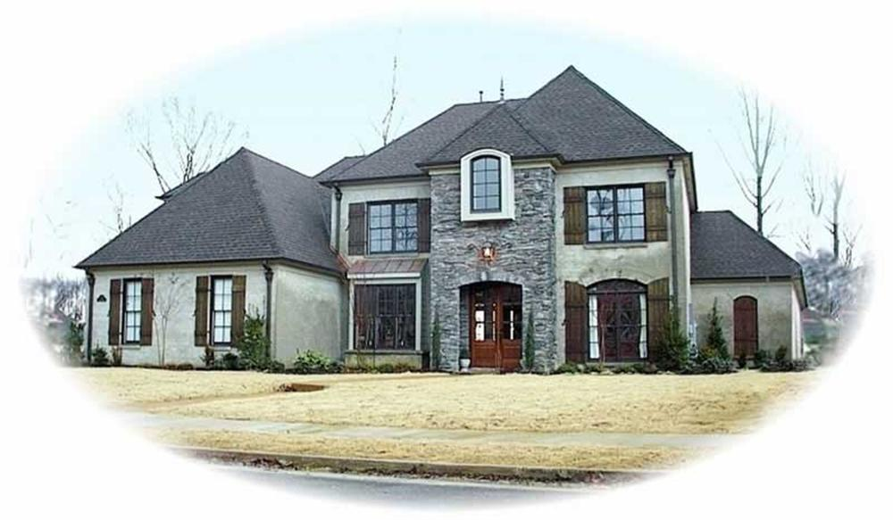Main image for house plan # 10836