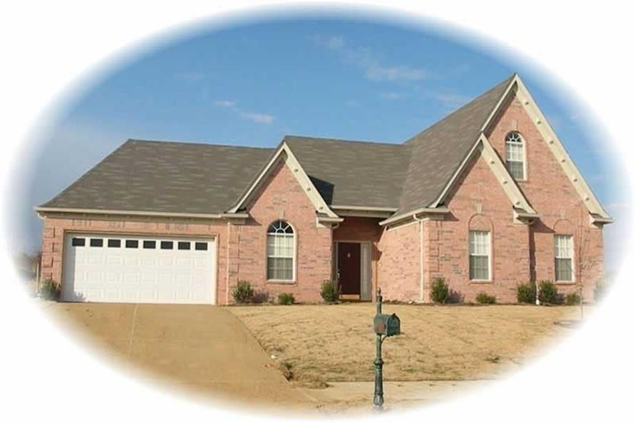 4-Bedroom, 2022 Sq Ft French House Plan - 170-2196 - Front Exterior