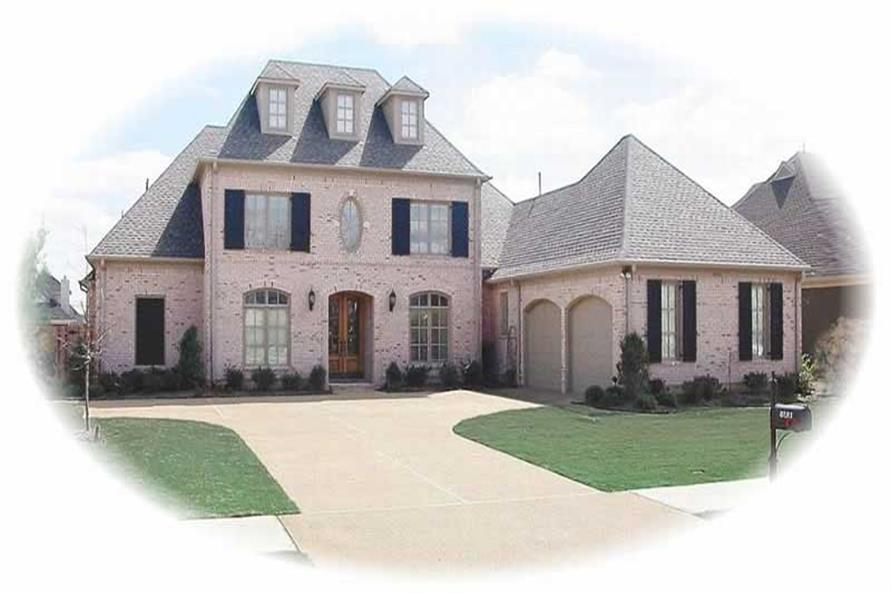 Main image for house plan # 10837