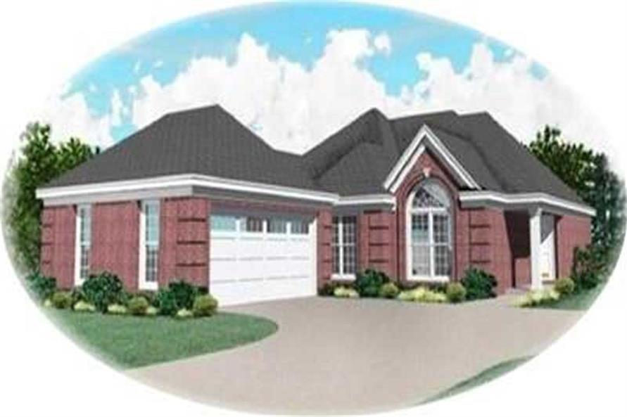 Main image for house plan # 8350