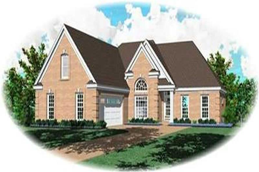 Main image for house plan # 8329