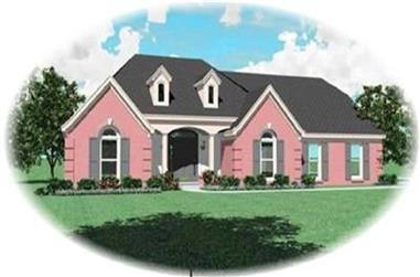 3-Bedroom, 2485 Sq Ft Contemporary Home Plan - 170-2211 - Main Exterior