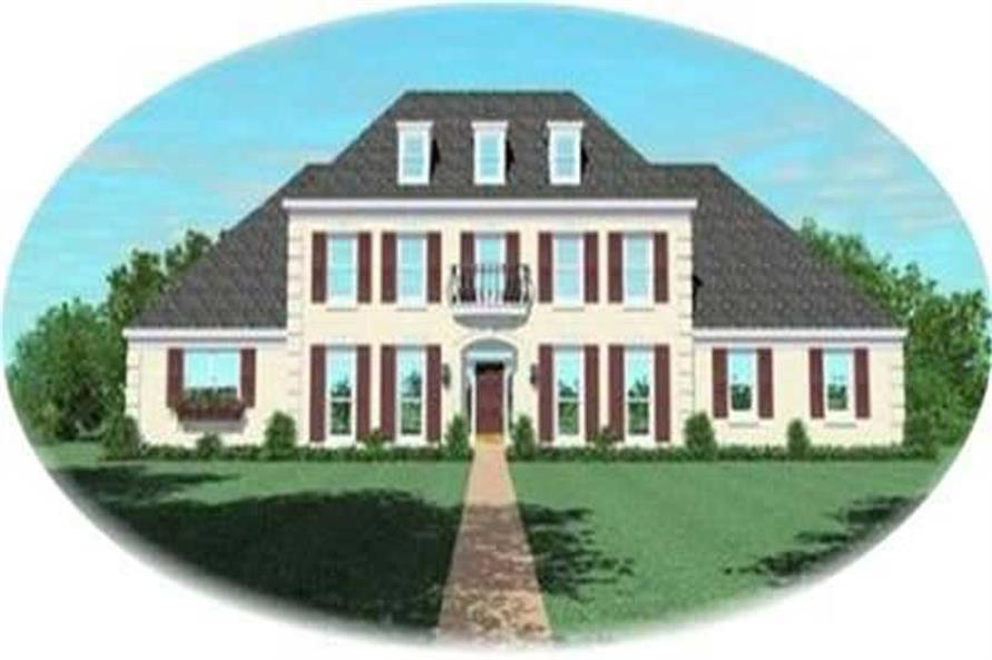 Main image for house plan # 8342