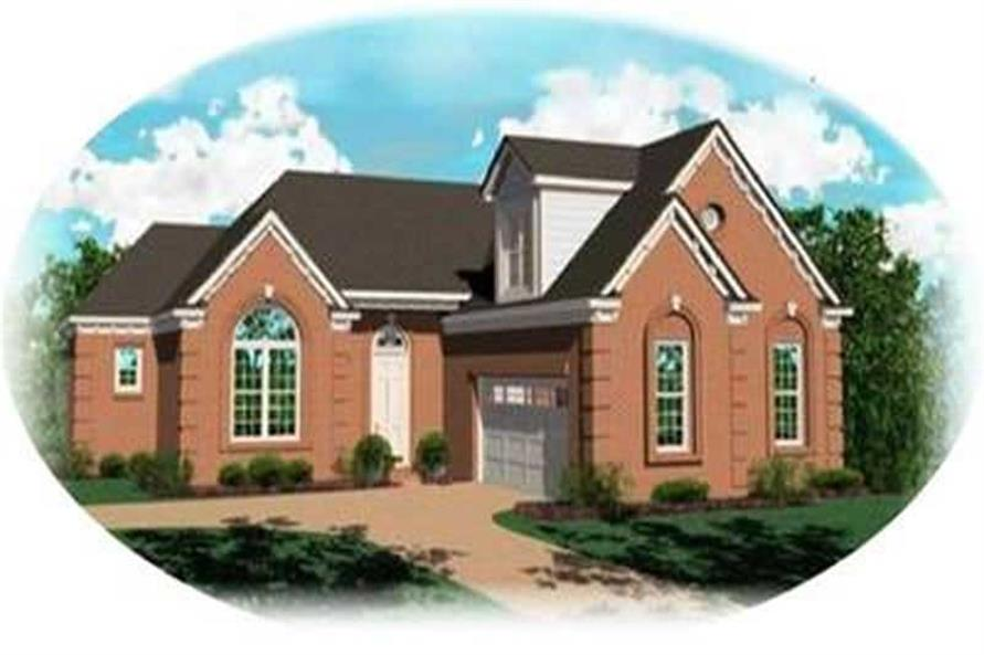 Main image for house plan # 8326
