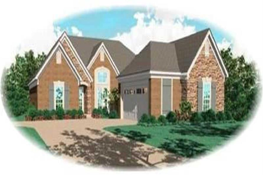 Main image for house plan # 8347